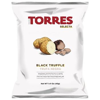 【FOOD de WINE】トーレス 黒トリュフポテトチップ 40g / アルカン(TORRES) 0ml