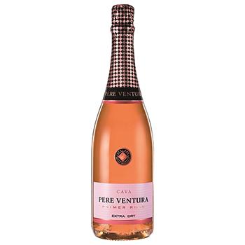 スパークリング ワイン 【サクラアワード2019ゴールド・中華料理部門グランプリ受賞】カバ・プリメール・ロゼ エクストラ・ドライ / ペレ・ベントゥーラ(CAVA PRIMER Rose Extra Dry) スペイン ロゼ泡 辛口 750ml