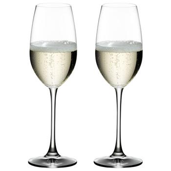 【6408/48】オヴァチュア シャンパーニュ(2個入) / リーデル(OUVERTURE Champagne)