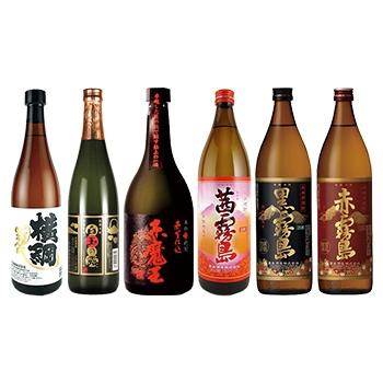 セール 芋焼酎6本セット / オリジナル ◎(SYOUCYUH six bottle set) 4860ml