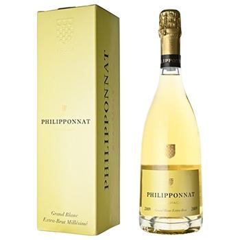 シャンパン スパークリング ワイン 【箱付】2009 フィリポナ グラン・ブラン・ミレジム / フィリポナ(PHILIPPONNAT GRAND BLANC MILLESIME 2009) フランス 白泡 辛口 750ml