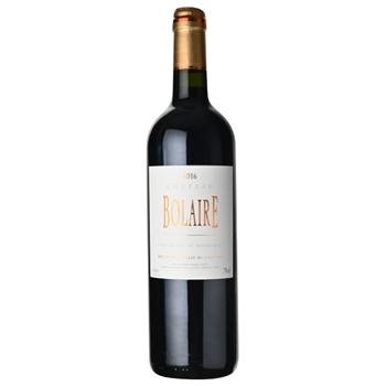 ワイン 2016 シャトー・ボレール / シャトー・ボレール(CHATEUA BOLAIRE BORDEAUX SUPERIEUR ROUGE 2016) フランス 赤 ミディアムボディ 750ml