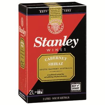 【ボックスワイン】スタンレー カベルネ シラーズ 2L / スタンレー(Stanley Cabernet Shiraz) (2000ml)