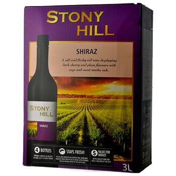 【ボックスワイン】ストーニー ヒル シラーズ 3L(Stony Hill Shiraz) (3000ml)