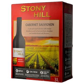 【ボックスワイン】ストーニー ヒル カベルネソービニヨン 3L (Stony Hill Cabernet Sauvignon) (3000ml)