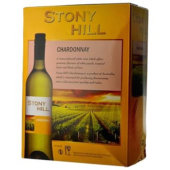 【ボックスワイン】ストーニー ヒル シャルドネ 3L (Stony Hill Chardonnay) (3000ml)